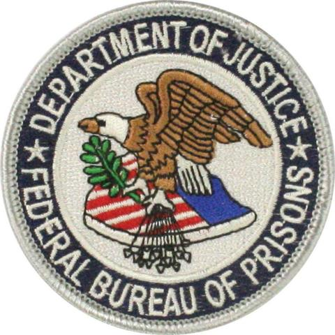 The great seal of the Federal Bureau of Prisons.