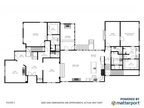 Matterport Versus BlueSketch Floor Plans We Get Around Network